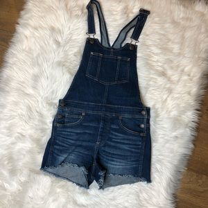 American Eagle | DenimX High Waisted Overall Short